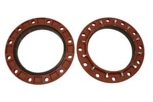 Sigma Zip Flange™ 10 in. Ductile Iron Standard Duty Restraint Flange SZF2C10 at Pollardwater