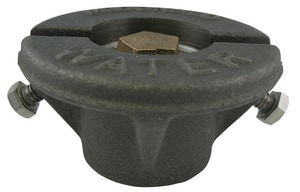 A.Y. McDonald 7 ft. Cast Iron, Steel and Brass Curb Box with Tracerwire M5614TWW
