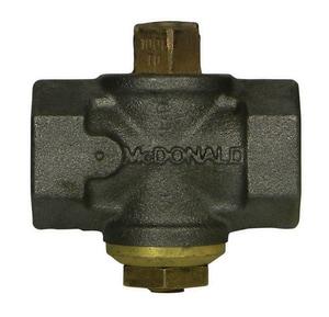 A.Y. McDonald 10686B 1 in. Cast Iron 100 psig FNPT Plug Valve M10686BG