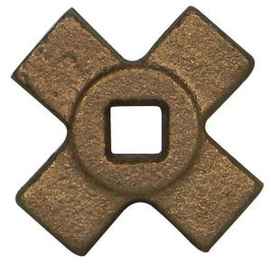 A.Y. McDonald 1 in. 200# Bronze Cross Handle Gate Valve M2035CHG