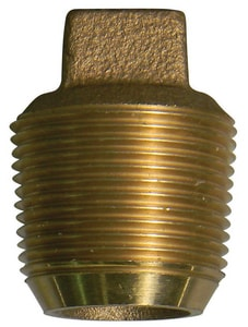 A.Y. McDonald 5/8 in. CC Brass Plug M73206E