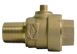 A.Y. McDonald MNPT x FNPT Ball Brass Corporation Stop M73149B