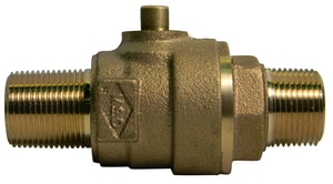 A.Y. McDonald 1/2 in. MNPT Brass Straight Coupling M73131D