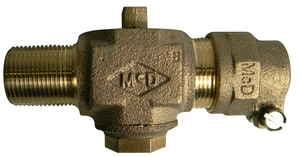 A.Y. McDonald 3/4 in. MNPT x CTS Compression Corporation Stop M7470422F