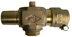 A.Y. McDonald 1 in. MNPT x CTS Compression Corporation Stop M7470422G