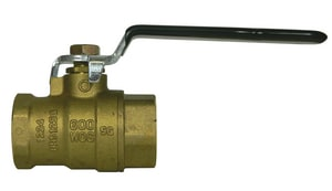 A.Y. McDonald 72032T Brass Full Port FNPT 600# Ball Valve M72032T