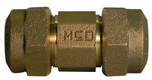 A.Y. McDonald CTS Compression Brass Straight Coupling M74758Q