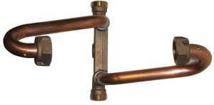 A.Y. McDonald 1 in. Male Meter Brass Straight Meter Setter M7194