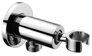 Fortis Brera Round Drop Elbow in Polished Chrome F5091250PC