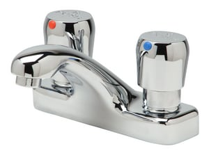 Zurn AquaSpec® 0.25 gpm 2-Hole Metering Lavatory Faucet in Polished Chrome ZZ86500XLRKR