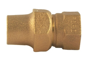 Ford Meter Box 1 in. Flared x FIPT Brass Coupling FC2144NL