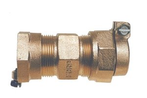 Ford Meter Box 1 in. Pack Joint Brass Coupling FC5644NL