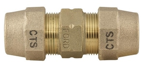 Ford Meter Box 1 in. Grip Joint Brass Coupling FC4444GNL