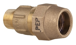 Ford Meter Box 1 in. MIP x PEP Brass Coupling FC8644GNL