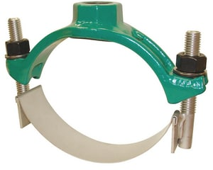 Ford Meter Box 8 x 1 in. IP Ductile Iron, Stainless Steel and Rubber Single Strap Saddle FFC101905IP4