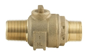 Ford Meter Box 2 in. MIP x FIP Brass Corporation Stop FFB5007NL