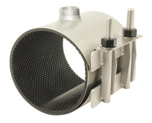 Ford Meter Box Style FS1 6 x 7-1/2 in. Stainless Steel Repair Clamp 6.84 - 7.24 in. FFS172475CC4