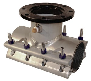 Ford Meter Box Mechanical Joint Stainless Steel Tap-on-Pipe Sleeve FFTSS132A