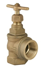 Ford Meter Box 1 in. FIP x FIP Angle Supply Stop Valve FGA11444NL