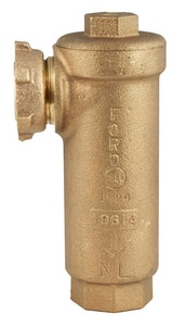 Ford Meter Box 1/2 x 3/4 in. Meter x FIPT Brass Angle Cartridge Dual Check Valve FHHCA91NL