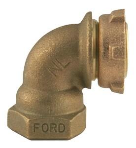 Ford Meter Box 3/4 in. Meter Yoke x FIPT 90 Degree Bend FL9123NL