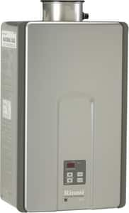 Rinnai HE+ Series 190 MBH Indoor Non-condensing Propane Tankless Water Heater RRL94IP