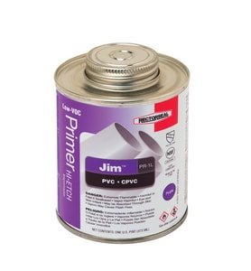 Rectorseal Jim™ PR-1L 19.2 oz PVC Purple Primer REC55914