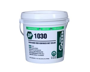 Design Polymerics 1 gal. Duct Seal Waterbased in White DDP1030G