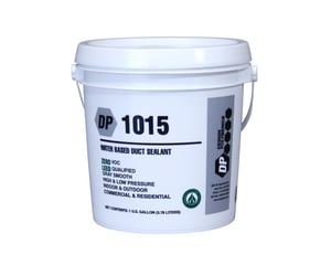 Design Polymerics 1 gal High Velocity Duct Sealant Waterbased in Gray D10150201