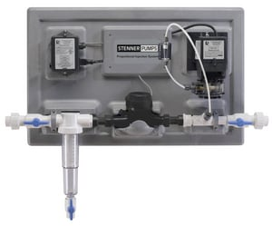 Stenner 3/4 x 3/4 in. Plastic and Stainless Steel Proportional Injection System SS17120341P