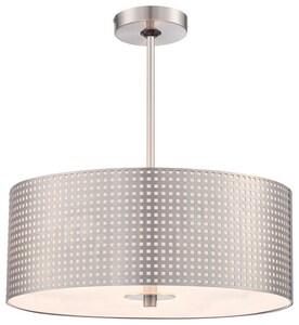 George Kovacs Grid™ 3-Light Ceiling Mount Pendant in Brushed Nickel KP5743084