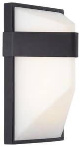 George Kovacs Wedge 10W 1-Light Outdoor Wall Sconce KP1236L