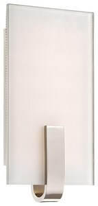 George Kovacs 6 in. 1-Light LED Wall Sconce in Polished Nickel KP1140613L