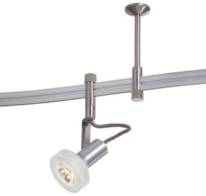 George Kovacs GK LightRAIL® 3 W 5-Light Led Monorail Strip Light Lamp in Silver KP4305084