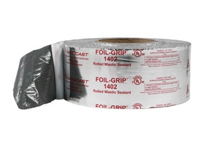 Hardcast Foil-Grip™ 2 in. x 100 ft. Silver Aluminum Premium Grade Duct Tape HAR304099