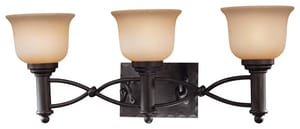 Minka Aspen™ II 100 W 3-Light Vanity in Aspen Bronze M59731138