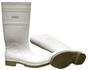 Ironwear Size 8 Steel Toe Boot in White I9258W08
