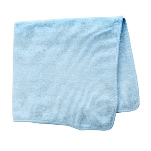 Rubbermaid 16 x 16 in. Light Commercial Microfiber Cloth in Blue R1820583
