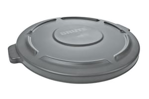 Rubbermaid Brute® 20 gal Container Lid in Grey RFG261960GRAY at Pollardwater