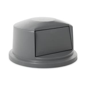 Rubbermaid Brute® 22-11/16 in. 32 gal Polyethylene Container Dome Top in Grey RFG263788GRAY at Pollardwater