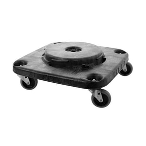 Rubbermaid Brute® Square Dolly for Container in Black RFG353000BLA