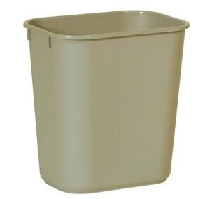 Rubbermaid 28 qt Waste Container in Beige RFG295500BEIG at Pollardwater