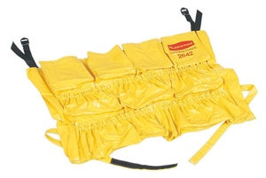 Rubbermaid Brute® Caddy Bag in Yellow RFG264200YEL at Pollardwater