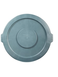 Rubbermaid Brute® 22-2/5 in. 32 gal HDPE Container Lid in Grey RFG263100GRAY