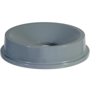 Rubbermaid Brute® 22-2/5 in. HDPE Funnel Top in Grey RFG354300GRAY at Pollardwater