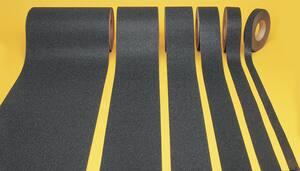 Accuform Signs Skid-Gard™ 60 ft. x 3 in. Floor Tape Black APTA103BK at Pollardwater