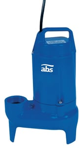 ABS Pumps 1/2 hp Sewage Pump A08736552