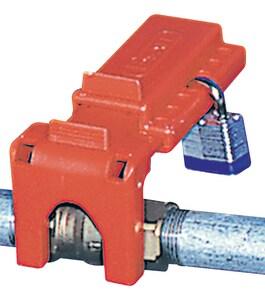 Accuform Signs 2-1/2 in. Polypropylene Lockout AKDD432RD at Pollardwater