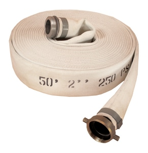 3 in. x 50 ft. Single Jacket Mill Discharge Hose MxF NPSM A1130300050 at Pollardwater
