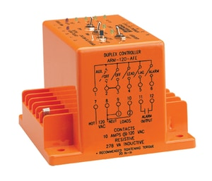 Duplex Alternating Relay Duty Cycle 24 VAC (3) Relays SPDT N/O 10 amp AARM120AFE at Pollardwater